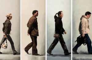 一个人走路的姿势,暴露了他的内心