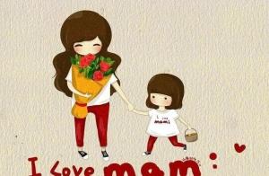 宝宝心中最爱的妈妈是什么样?