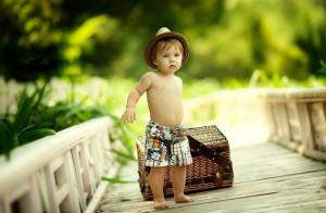 請安靜的跟在孩子后面,把成長的機會留給他!