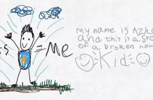 6岁小男孩画出爸妈离婚全过程,看完很多父母沉默了
