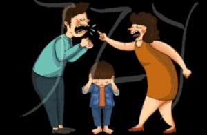 不小心在孩子面前吵架时,怎么处理?